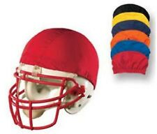 New Dozen 12 Pk FOOTBALL Stretchable Nylon HELMET PINNIES COVERS 4 Color Options