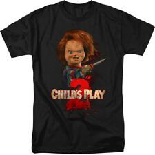 Officially Licensed Child's Play 2 Here's Chucky Adult Shirt S-3XL