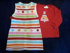 NWT Girl's Gymboree Cozy Cutie sweater dress & long sleeve shirt 12 18 24 months