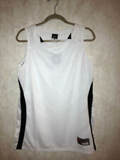 NEW Womens S M L XL NIKE Dri Fit Longhorn White Black Basketball Jersey Tank Top
