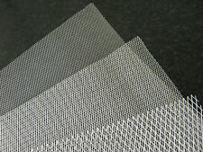Aluminium Modelling Mesh Fine Medium And Coarse Appox 25cm By 20cm Sheets
