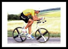 Miguel Indurain 1991 Tour de France Cycling Photo Memorabilia