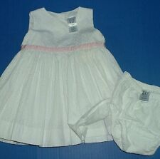 Girls White Eyelet & Knit Dresses baby GAP 3-6M Baby N 12M baby GAP 2Y 2T