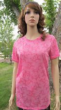 Bone Collector burnout fitted tee Pink/Azalea