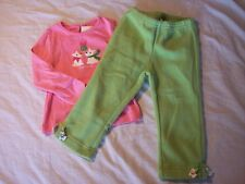 NWT Girl's Gymboree Cheery All The Way dog shirt & pants ~ 12 18 24 months 3 3T