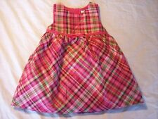 NWT Girl's Gymboree Cheery All The Way pink sleeveless dress ~ 6-12 months 3 3T