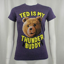 Authentic TED The Movie Thunder Buddy Girl Juniors Tee T-Shirt S M L XL NEW