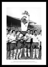 Bolton Wanderers Nat Lofthouse & Team 1958 FA Cup Final Photo Memorabilia (152)