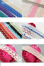 New 5 Yards Cotton lace Trim Dress Lace Trim Cotton Cluny Lace Free Shipping