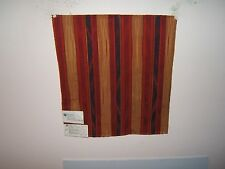 Fabric remnants for crafts southwest stripe Kravet Apache Fire Tapestry Stripe
