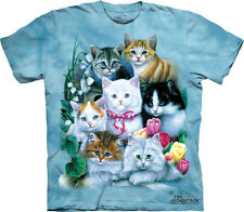NEW KITTENS Cat Kitty Cute Adult Sizes The Mountain T Shirt Adult Sizes