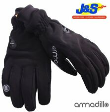 ARMADILLO MEN'S MOTORBIKE MOTORCYCLE SCOOTER WATERPROOF WINTER GLOVES J&S