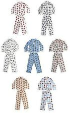 BOYS PYJAMAS OFFICIAL FOOTBALL FLANNEL  AGE 3-10 YEARS OLD