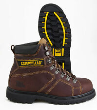 CAT (CATERPILLAR) SILVERTON SLIP RESISTANT LEATHER WORK BOOT