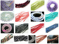 Huge Lot 1,000 Natural Genuin 4mm Round loose Gemstone Beads DIY jewllery making