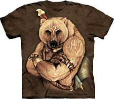 New TRIBAL BEAR T Shirt