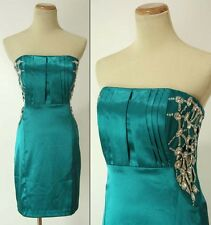 WINDSOR $85 Teal Homecoming Evening Cocktail Dress NWT-Avail Size 3,5,7,11,13