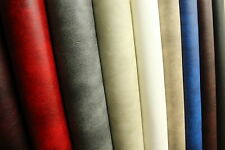 FAUX HIGH QUALITY LEATHER MATERIAL LEATHERETTE PVC VINYL UPHOLSTERY FABRIC