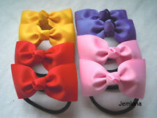 Jemlana's handmade school hair ties ..Set of 2 hair ties