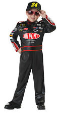 NASCAR DRIVER AUTO RACING JEFF GORDON CHILD COSTUME Boys Cars Party Birthday