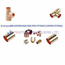 8mm/10mm/15mm COPPER END FEED PIPE FITTINGS COPPER FITTINGS