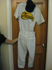 The Warriors Baseball Furies Complete Uniform Pants Jersey Hat vest ken taylor