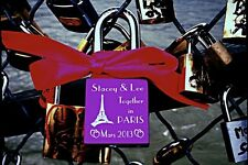 Love Locks in Paris - Engraved Padlocks - Love Locks on Paris and London bridges