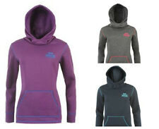 LADIES LONSDALE OVERHEAD HOODY PURPLE NAVY BLUE GREY SIZES 8 10 12 14 RRP £44.99