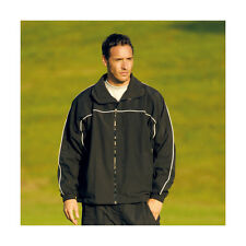 Precision Training Microfibre Tracksuit Top Football / Sports Navy Blue BNTW