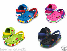 CROCS CROCBAND KIDS LEGO CLOG - ALL COLOURS AVAILABLE.