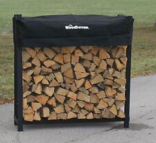 The Woodhaven 4ft 1/4 Cord Firewood Rack. FREE SHIPPING!