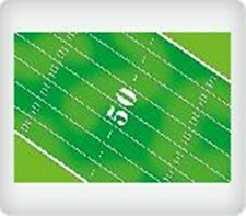 FOOTBALL FIELD EDIBLE IMAGE BACKGROUND! CAKE/CUPCAKE/COOKIE! FREE SHIPPING!
