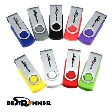 BESTRUNNER 1GB-64GB USB2.0 Waterproof Flash Drive Memory Stick Storage Disk Gift