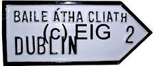Your Fingal NORTH DUBLIN Irish Town old style ROAD SIGN - Handpainted in Ireland