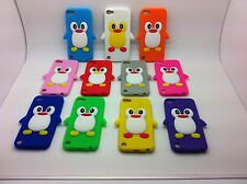 ★★ COQUE HOUSSE ETUI SILICONE PINGOUIN PENGUIN POUR IPOD TOUCH 5 5G  ITOUCH 5G ★