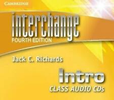 Interchange Intro Class Audio CDs (3) by Jack C. Richards Compact Disc Book (Eng