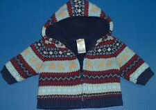 Boys Spring Fall Sweater Fleece Hoodies Gymboree Renzo Baby Harvest PLACE