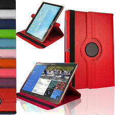 Leather 360° Rotatable Stand Case Cover For Various tablets With Sleep wake