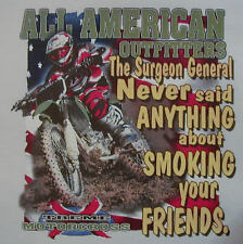 ALL AMERICAN OUTFITTERS THE SUNGEON GENERAL MOTORCROSS DIRT BIKE SHIRT #366