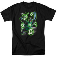 Green Lantern Earth Sector Classic Licensed DC Comics Adult Shirt S-3XL