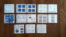 Stampin Up Variety of Celebration Theme Stamp Sets - All Unmounted & Clean
