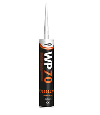 12X WP70 SILICONE UPVC/WOOD/DOOR/​WINDOW FLEXIBLE SEALANT  VARIOUS COLOURS  700T