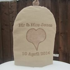 PERSONALISED WEDDING GIFT COFFEE COSY. Choice of 8 Designs