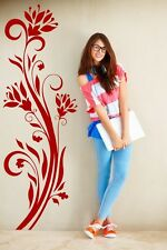 Wonderful abstract foral wall theme attractive decor durable wall sticker UK