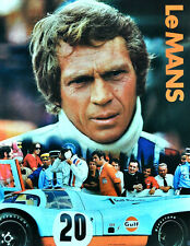 """LE MANS"".. Steve McQueen ..Classic Movie Poster A1A2A3A4Sizes"