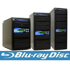 Blu-ray BD BDXL CD DVD Duplicator + 500GB & USB Disc Copier Multi Burner Tower