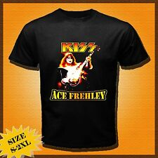 new ACE FREHLEY KISS GUITARIST ROCK BAND CD SHORT SLEEVE TEE T-SHIRTS SIZE S-XXL