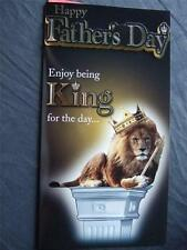 FATHER'S DAY ~ ENJOY BEING KING FOR A DAY ~ CHOICE OF TITLE - L@@K ~ Fathers day