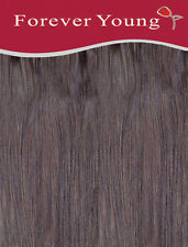 Clip In Human Hair Extension One Piece Quick Clip Pick & Mix Medium Brown 4#