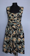 Beautiful Ladies Floral Dress from Atmosphere in Black Colour - Cotton!